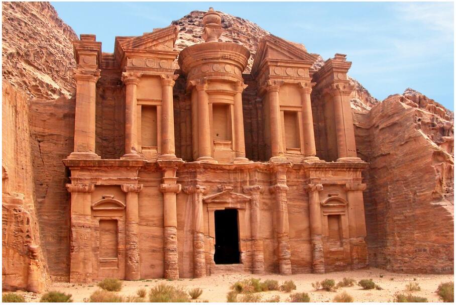 The Monastery & Inside